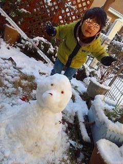 s-kazuと雪だるま.jpg